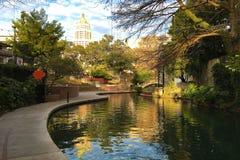 Beautiful view of the San Antonio Riverwalk Stock Image