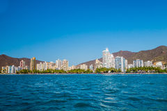 Beautiful view of Santa Marta, Colombia Royalty Free Stock Photography