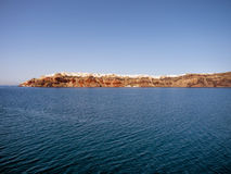 Beautiful view of Santorini island Royalty Free Stock Image
