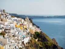 Beautiful view of Santorini island Stock Image