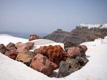 Beautiful view of Santorini island Royalty Free Stock Photo