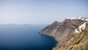 Beautiful view of Santorini island Stock Images