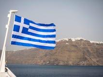 Beautiful view of Santorini island Royalty Free Stock Photos