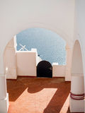 Beautiful view of Santorini island Royalty Free Stock Photography