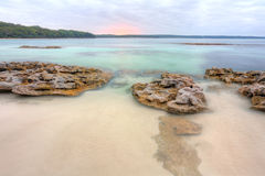Beautiful view from Scottish Rocks NSW Australia Royalty Free Stock Images