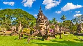 Buddha park, Vientiane, Laos Stock Photos