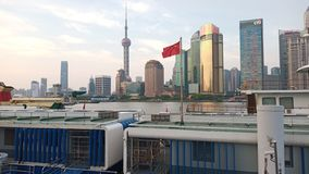 Beautiful View in Shanghai stock photography