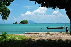 Beautiful view from shore, Thailand Royalty Free Stock Images