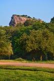 Beautiful view of the Sigiriya Lion Rock, Sri Lanka Royalty Free Stock Images
