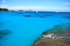 Beautiful view at similan island Stock Photos