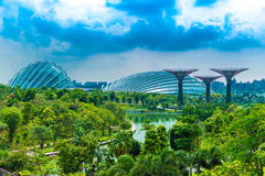 Beautiful view of Singapore in Asia Stock Photos