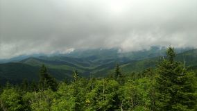 Beautiful view from.the Smoky mountains Stock Photos