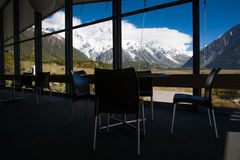 Beautiful view of snow mountain during travel to Mount Cook, South Island, New Zealand Stock Photos