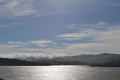Beautiful view of Snowdonia national park royalty free stock photography