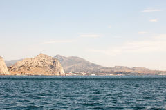 Beautiful view of the southern coast in  Crimea Stock Photo