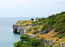The Beautiful view on Sri chang island Royalty Free Stock Photos