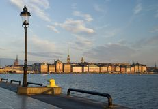 Beautiful view of Stockholm. Sweden Royalty Free Stock Image