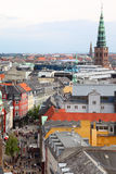 Beautiful view of street in Copenhagen Royalty Free Stock Images
