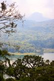 Tnblingan lake view from the top, Bali, Indonesia stock image