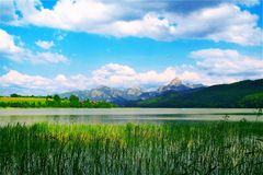 Tegernsee,Bayern,Germany. Beautiful view from Tegernsee,Bayern,Germany Stock Image
