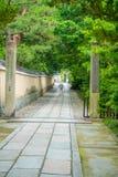 Beautiful view of teh street near of Yasaka Pagoda Gion Higashiyama District, Kyoto.  Royalty Free Stock Photo