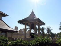 Temple of the Sacred Tooth Relic stock photography