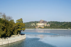 Beautiful view of temple at Summer Palace Stock Photography