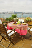 Beautiful View from the terrace Royalty Free Stock Images