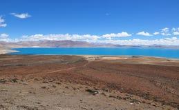 Beautiful view of Tibetan landscape Stock Image