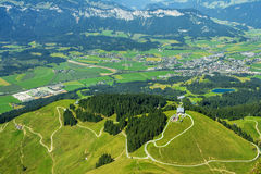 Beautiful view in Tirol,Austria Stock Photography