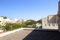 Beautiful view to dubai yard Royalty Free Stock Photo