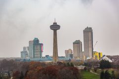Beautiful view to Niagara Falls, Ontario, Canada. stock images