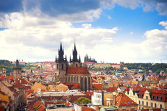 Beautiful view to Prague Royalty Free Stock Photography