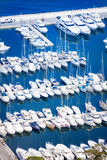 Beautiful view from top of marina in Monaco Stock Photography