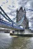 Beautiful view of the tower bridge of London Stock Image