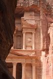 Beautiful view of Treasure in Petra Royalty Free Stock Image