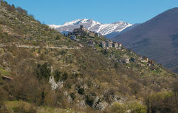 Beautiful view of Trevi nel Lazio Stock Photos