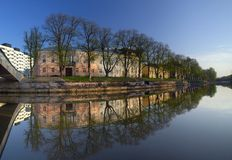 Beautiful view of Turku stock images