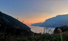 Landscape of the Alto Garda Royalty Free Stock Photos
