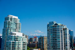 Beautiful view of Vancouver Stock Images