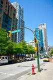Beautiful view of Vancouver Royalty Free Stock Photo