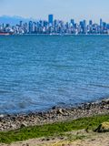 Beautiful view of Vancouver, British Columbia, Canada stock photography