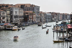 Beautiful view from venice Stock Image