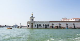 Beautiful view of Venice and the Grand Canal. Santa Maria Della Salute Royalty Free Stock Photo