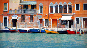Beautiful view from venice Royalty Free Stock Images