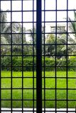A beautiful view from the window pane royalty free stock image