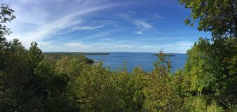 Beautiful view. Beautiful Wisconsin view in door county Stock Photography