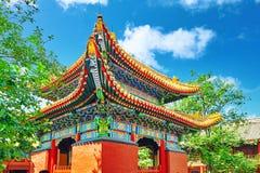 Beautiful View of Yonghegong Lama Temple.Beijing. Lama Temple is Stock Images