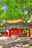 Beautiful View of Yonghegong Lama Temple.Beijing. Lama Temple is Stock Photos
