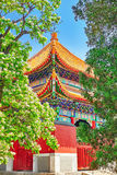 Beautiful View of Yonghegong Lama Temple.Beijing. Lama Temple is Stock Photography